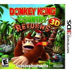 DONKEY KONG COUNTRY - RETUNRS - 3DS