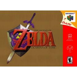 ZELDA OCARINA OF TIME - N64