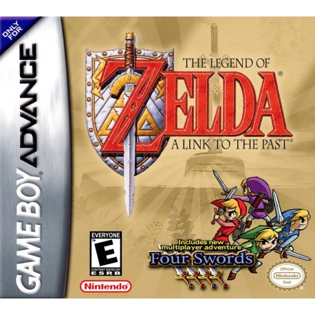 ZELDA - A LINK TO THE PAST - GBA - XBIT