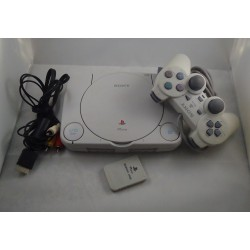 PLAYSTATION ONE + 2 CONTROLES + TRANSFORMADOR + CABLE DE VIDEO