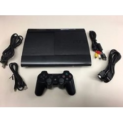 PLAYSTATION - PS3 ULTRA SLIM + 1 CONTROL + JUEGO