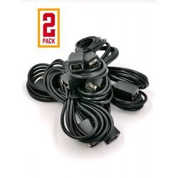 Pack 2 Cables Extensores Control Nintendo Mini NES / SNES CLASSIC