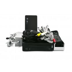 Wii Negra + Disco Duro 500gb Con 340 Juegos + 2000 Retro + Regalo Wii2HDMI
