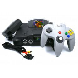 Nintendo N64 Original 90s + Control Original + Juego Super Mario 64