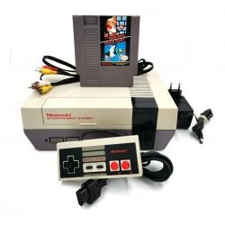Nintendo Nes Original 80s + 1 Control + Juego Super Mario / Duck Hunt