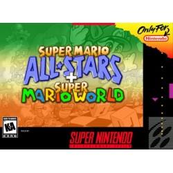 SUPER MARIO ALL STAR + SUPER MARIO WORLD - SNES