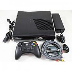 XBOX-360 - SLIM + 1 CONTROL + DISCO DURO + JUEGO