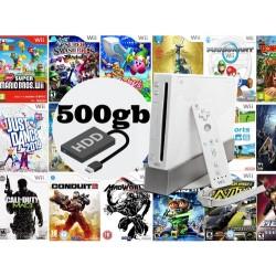 Disco Duro Wii 500gb Con Los Mejores Clásicos