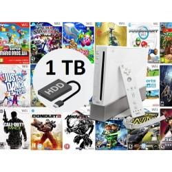 Disco Duro Wii 1TB Con Los Mejores Clásicos