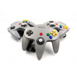 Control Original Gris Para Nintendo 64